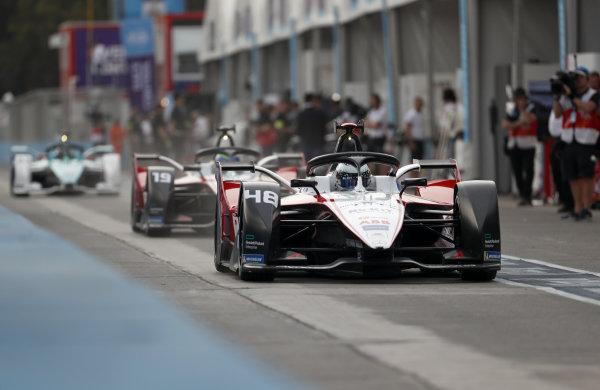 Edoardo Mortara (CHE) Venturi, EQ Silver Arrow 01 and Felipe Massa (BRA), Venturi, EQ Silver Arrow 01