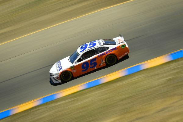 #95: Matt DiBenedetto, Leavine Family Racing, Toyota Camry Procore Thanks DW Throwback
