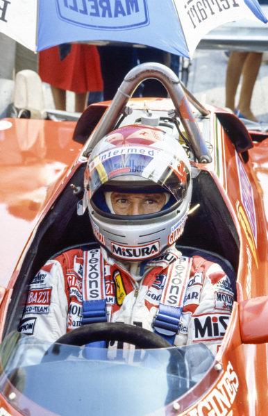 Mario Andretti, Ferrari 126C2.