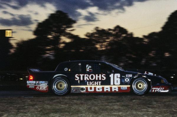 Pete Halsmer / Bob Earl, Stroh's Light Cougar, Mercury Cougar XR-7 Ford.