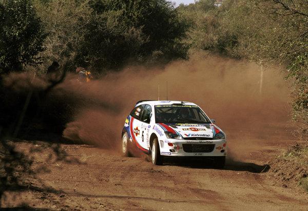 2000 Argentina Rally.Carlos Sainz (Ford Focus WRC).World - McKlein/LAT Photographic