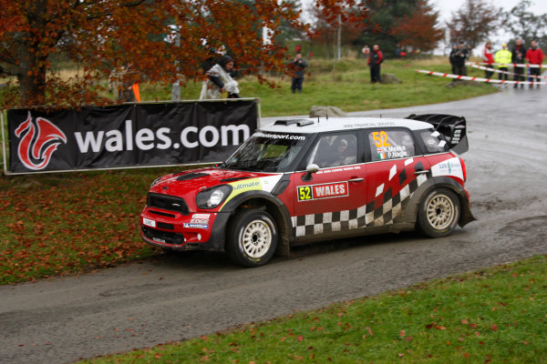 Round 13 - Wales Rally GB. 10th-13th November 2011. Kris Meeke, Mini, ActionWorldwide Copyright: McKlein/LAT