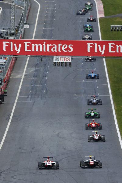 Esteban Ocon (FRA) ART Grand Prix at GP3 Series, Rd2, Spielberg, Austria, 19-21 June 2015.