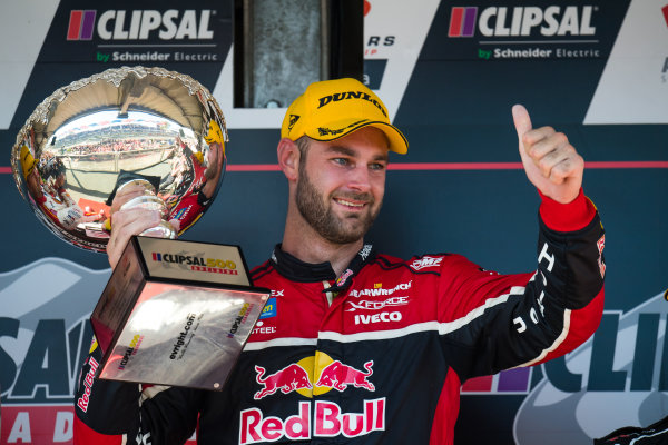 2017 Supercars Championship Round 1.  Clipsal 500, Adelaide, South Australia, Australia. Thursday March 2nd to Sunday March 5th 2017. Shane Van Gisbergen driver of the #97 Red Bull Holden Racing Team Holden Commodore VF. World Copyright: Daniel Kalisz/LAT Images Ref: Digital Image 040317_VASCR1_DKIMG_6224.JPG