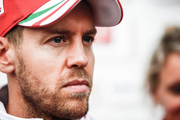 Shanghai International Circuit, Shanghai, China.  Friday 7 April 2017. Sebastian Vettel, Ferrari. World Copyright: Andrew Hone/LAT Images ref: Digital Image _ONZ4298