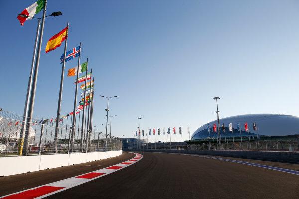 Sochi Autodrom, Sochi, Russia. Thursday 9 October 2014. A view of the new circuit. World Copyright: Glenn Dunbar/LAT Photographic. ref: Digital Image _89P0022