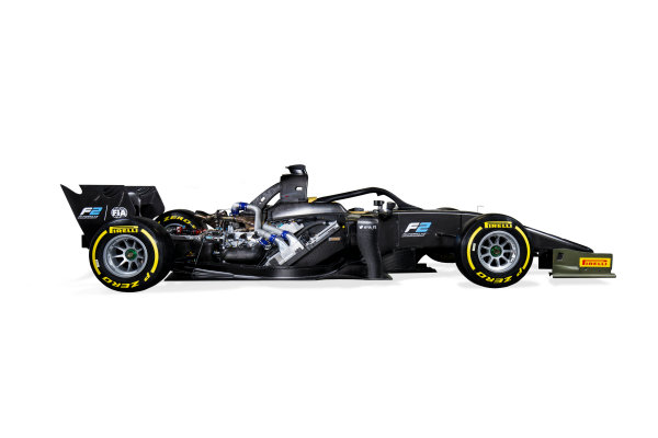 Autodromo Nazionale di Monza, Italy. Tuesday 22 August 2017 Studio image of the new 2018 F2 car. Photo: Zak Mauger/FIA Formula 2 ref: Digital Image 1B_IMG_0051