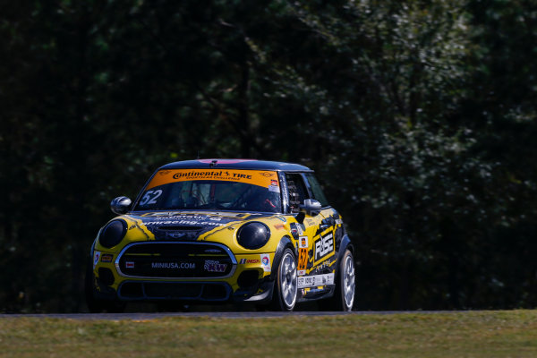 IMSA Continental Tire SportsCar Challenge Fox Factory 120 Road Atlanta, Braselton GA Wednesday 4 October 2017 52, MINI, MINI JCW, ST, Jared Salinsky, Mark Pombo World Copyright: Jake Galstad LAT Images
