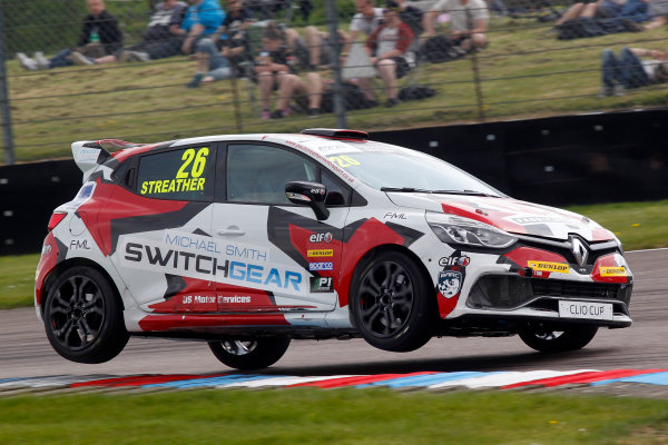 2016 Renault Clio Cup, Thruton, 7th-8th My 2016 Paul Streather (GBR) Finesse Motorsport / Paul Streather Renault Clio Cup  World copyright. Jakob Ebrey/LAT Photographic