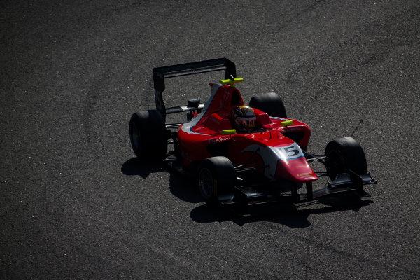2015 GP3 Series Test 4. Yas Marina Circuit, Abu Dhabi, United Arab Emirates. Thursday 3 December 2015. Charles Leclerc (MON, Arden International)  World Copyright: Sam Bloxham/LAT Photographic. ref: Digital Image _SBL1635