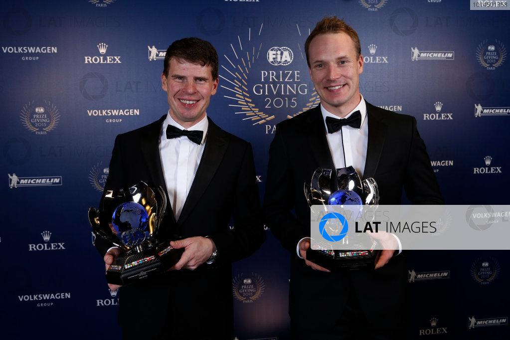 2015 FIA Prize Giving