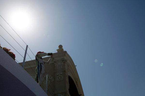 Valencia Spain. 27th June. Sunday Race. Giedo Van der Garde (NED, Barwa Addax Team).  Portrait. Photo: Andrew Ferraro/GP2 Media Service. Ref: _O9T4576 jpg