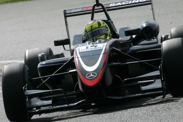 Silverstone, Great Britain. 3rd - 5th May 2009.Renger Van Der Zande (NED) - Hitech Racing Dallara Mercedes.World Copyright: Ebrey/LAT Photographic.