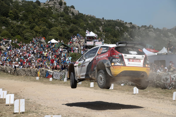 2014 World Rally Championship Rally Italy Sardinia 5th - 8th June 2014 Berardo Sousa, Ford, Action Worldwide Copyright: McKlein/LAT