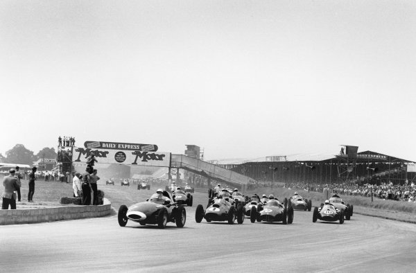 Silverstone, England. 17th - 19th July 1958.