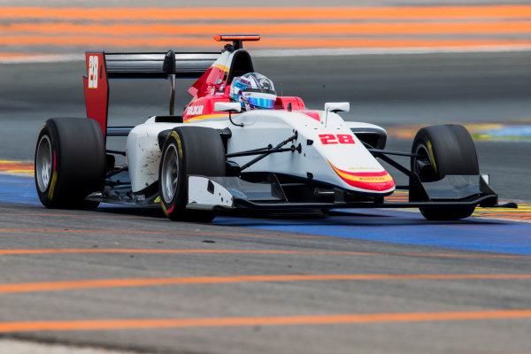 2016 GP3 Series Test 3. Circuit Ricardo Tormo, Valencia, Spain. Wednesday 26 April 2017. Marcos Siebert (ARG, Campos Racing)  Photo: Zak Mauger/GP3 Series Media Service. ref: Digital Image _54I2843