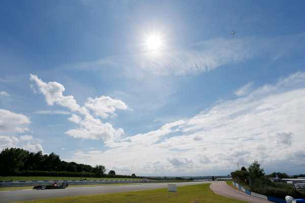FIA Formula E Test Day, Donington Park, UK.  3rd - 4th July 2014.  Nick Heidfeld, Venturi Grand Prix. Photo: Zak Mauger/FIA Formula E ref: Digital Image _L0U5164