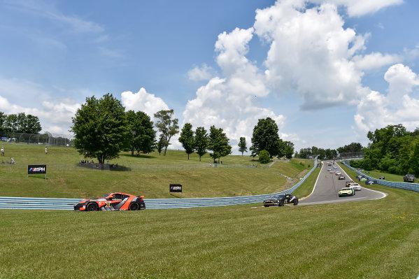 26-28 June, 2014, Watkins Glen, New York USA 28, Nissan, 370Z, GS, Tim Bell, Dane Cameron ?2014 Scott R LePage LAT Photo USA