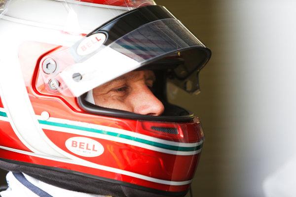 FIA Formula E Test Day, Donington Park, UK.  3rd - 4th July 2014.  Jarno Trulli, Trulli GP. Photo: Zak Mauger/FIA Formula E ref: Digital Image _L0U4776
