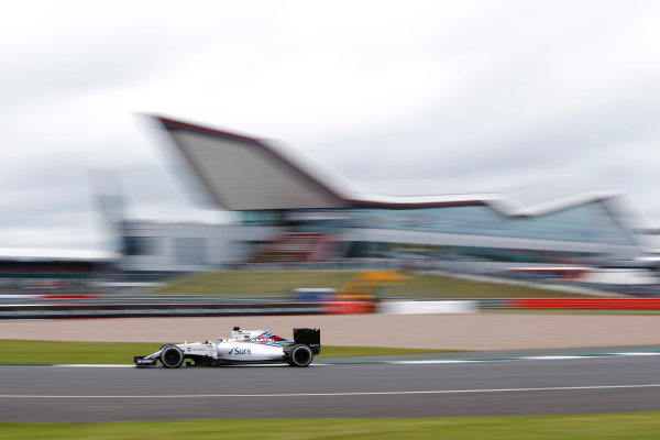 Silverstone, Northamptonshire, UK Friday 08 July 2016. Felipe Massa, Williams FW38 Mercedes.  World Copyright: Andrew Ferraro/LAT Photographic ref: Digital Image _FER8982