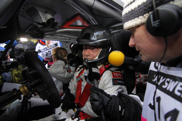 Round 01-Rally Sweden. 10th-13th February 2011.Chris Patterson, Petter Solberg, Citroen WRC, Portrait.Worldwide Copyright: McKlein/LAT