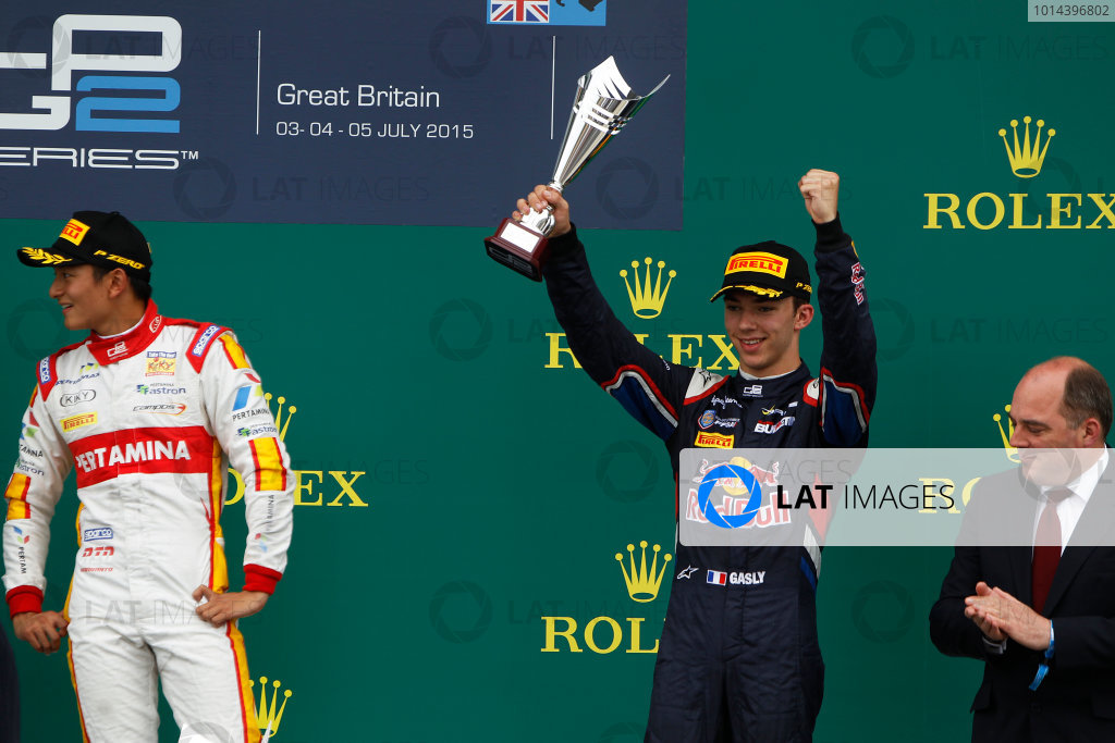 GP2 Round 5 - Silverstone, UK