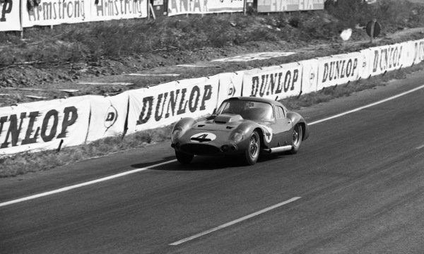 Maurice Trintignant (FRA) / Lucien Bianchi (BEL) Maserati France Maserati 151/1 Coupe. Le Mans 24 Hours, Le Mans, France, 23-24 June 1962.