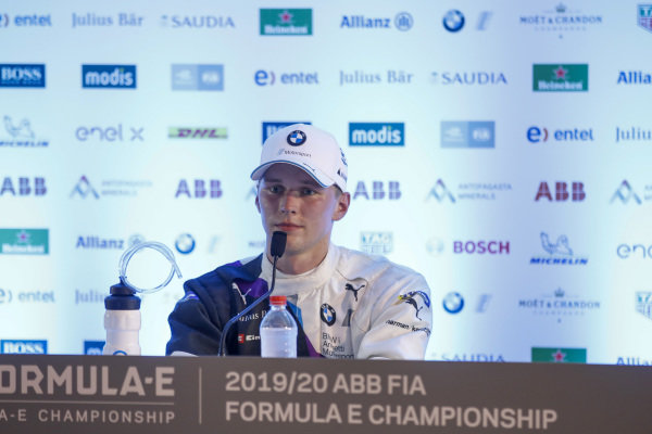 Maximilian Günther (DEU), BMW I Andretti Motorsports, 1st position, in the post race press conference