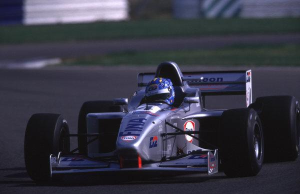 Silverstone, England. 22-23/3/2000. David Saelens, Super Nova Racing. World - LAT Photographic