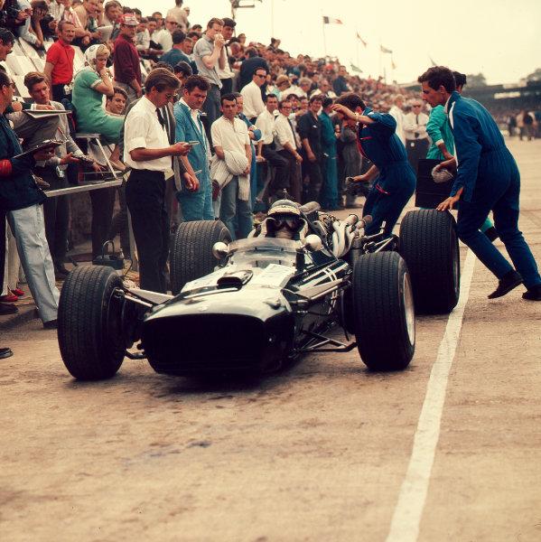 1967 British Grand Prix.Silverstone, England.13-15 July 1967.Jochen Rindt (Cooper T86 Maserati).Ref-3/3073.World Copyright - LAT Photographic