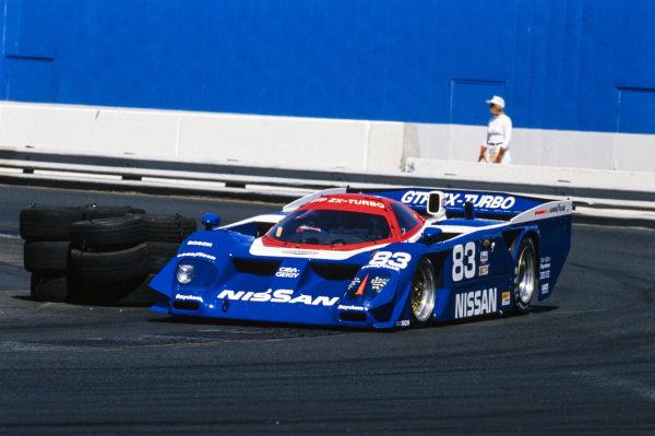 Geoff Brabham, Electramotive Engineering, Nissan GTP ZX-T.