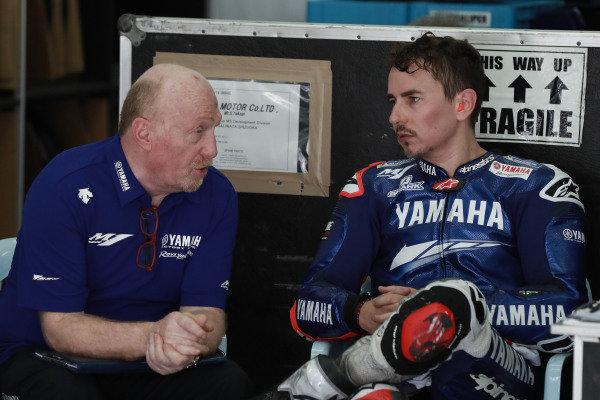 Silvano Galbusera, Jorge Lorenzo, Yamaha Factory Racing.