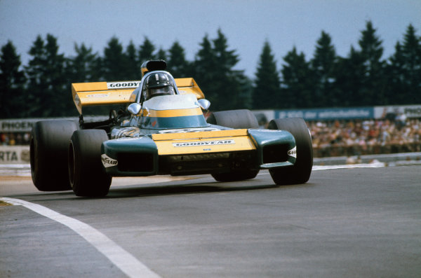 Nurburgring, Germany. 30th July - 1st August 1971.  Graham Hill, Brabham BT34 Ford.  Ref: 71GER22. World Copyright: LAT Photographic