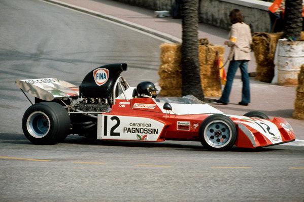 1972 Monaco Grand Prix.  Monte Carlo, Monaco. 11-14th May 1972.  Andrea de Adamich, Surtees TS9B Ford.  Ref: 72MON56. World Copyright: LAT Photographic