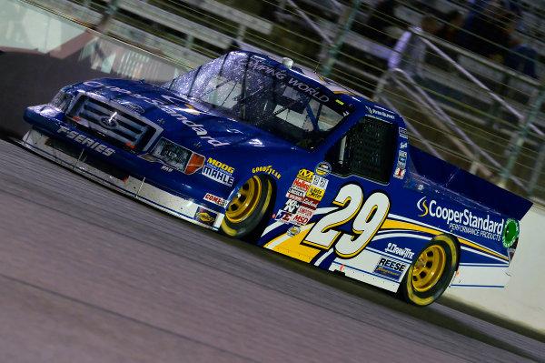 October 31-November 01, 2013, Fort Worth, Texas USA Ryan Blaney truck © 2013, Brian Czobat LAT Photo USA