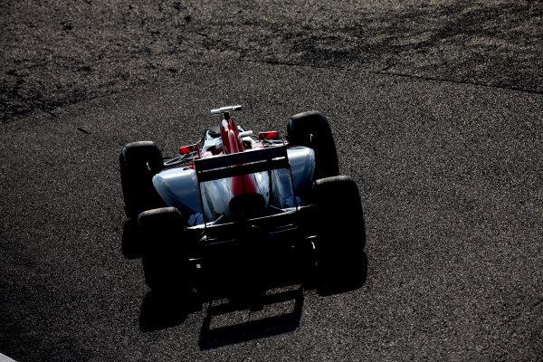 Suzuka Circuit, Suzuka, Japan. 7th October 2011. Jerome d'Ambrosio, Virgin MVR-02 Cosworth. Action.  World Copyright: Glenn Dunbar/LAT Photographic ref: Digital Image IMG_2636