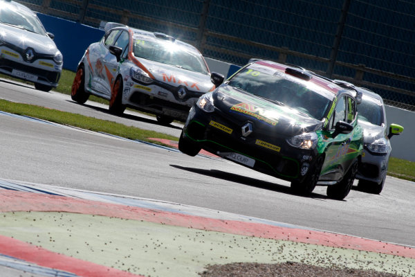 2016 Renault Clio Cup, Donington Park, 16th-17th April 2016, Ant Whorton-Eales (GBR) JamSport with AWE Motorsport Renault Clio Cup  World copyright. Jakob Ebrey/LAT Photographic