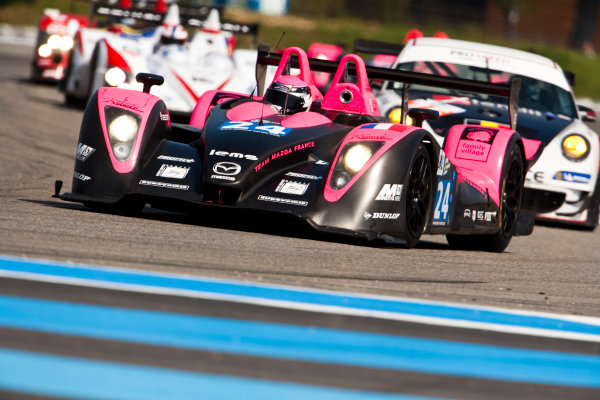 Paul Ricard, France. 9th - 11th April 2010. Matthieu Lahaye / Jacques Nicolet, (OAK Racing, Pescarolo - Judd). Action World Copyright: Drew Gibson/LAT Photographic. Digital Image _Y2Z9690