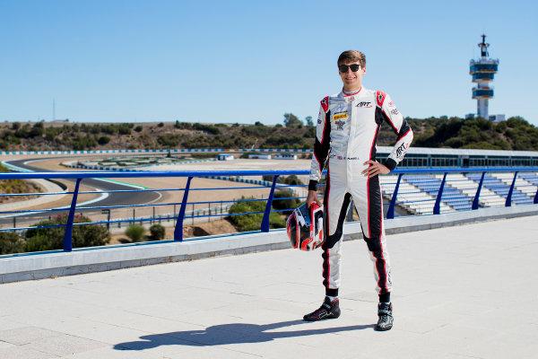 2017 GP3 Series Round 7.  Circuito de Jerez, Jerez, Spain. Thursday 5 October 2017. George Russell (GBR, ART Grand Prix).  Photo: Zak Mauger/GP3 Series Media Service. ref: Digital Image _56I3945