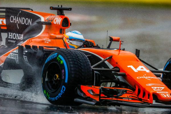 Suzuka Circuit, Japan. Friday 06 October 2017. Fernando Alonso, McLaren MCL32 Honda.  World Copyright: Steven Tee/LAT Images  ref: Digital Image _R3I6822