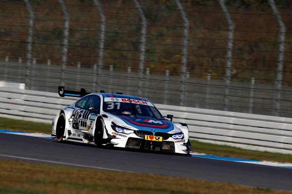 2017 DTM Round 9  Hockenheimring, Germany  Sunday 15 October 2017. Tom Blomqvist, BMW Team RBM, BMW M4 DTM  World Copyright: Alexander Trienitz/LAT Images ref: Digital Image 2017-DTM-HH2-AT3-1881