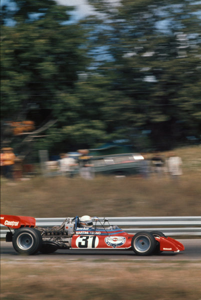 1972 Canadian Grand Prix.  Mosport, Canada. 22-24th September 1972.  Derek Bell, Tecno PA123.  Ref: 72CAN35. World Copyright: LAT Photographic