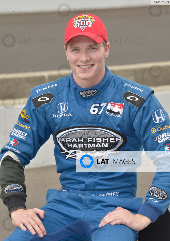 17-18 May, 2014, Indianapolis, Indiana, USA #67 Josef Newgarden, Hartman Oil/Sarah Fisher Hartman Racing ©2014 Dan R. Boyd LAT Photo USA