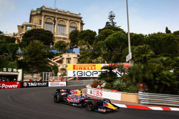 MONACO (MC) MAY 022-25-2014 - Grand Prix de Monaco 2014. Carlos Sainz jr. #1 Dams. Action. © 2014 Diederik van der Laan  / Dutch Photo Agency / LAT Photographic