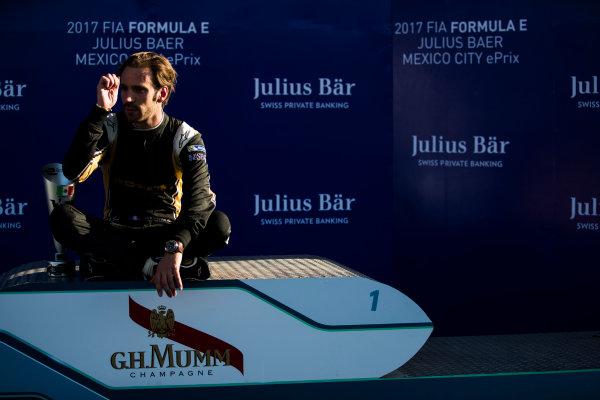 2016/2017 FIA Formula E Championship. Aut?dromo Hermanos Rodr?guez, Mexico City, Mexico Saturday 1 April 2017. Jean-Eric Vergne (FRA), Techeetah, Spark-Renault, Renault Z.E 16.  Photo: Sam BloxhamLAT/Formula E ref: Digital Image _W6I7587