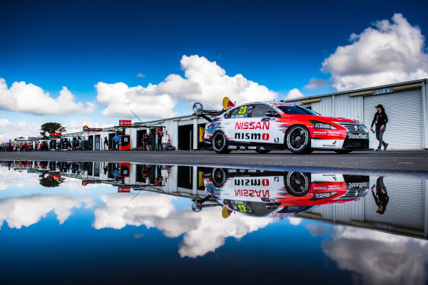 2017 Supercars Championship Round 5.  Winton SuperSprint, Winton Raceway, Victoria, Australia. Friday May 19th to Sunday May 21st 2017. Michael Caruso drives the #23 Nissan Motorsport Nissan Altima. World Copyright: Daniel Kalisz/LAT Images Ref: Digital Image 200517_VASCR5_DKIMG_5208.NEF