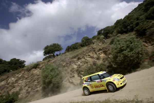 2007 FIA World Rally ChampionshipRound 7Rally Italy Sardinia 200717- 20 of May 2007PG Andersson, Suzuki, JWRC, Action.Worldwide Copyright: McKlein/LAT