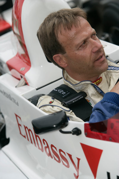2005 Goodwood Festival of SpeedGoodwood Estate, West Sussex. 24th - 26th June K Fielder in the Hill-Cosworth GH2. Portrait World Copyright: Gary Hawkins/LAT Photographicref: Digital Image Only