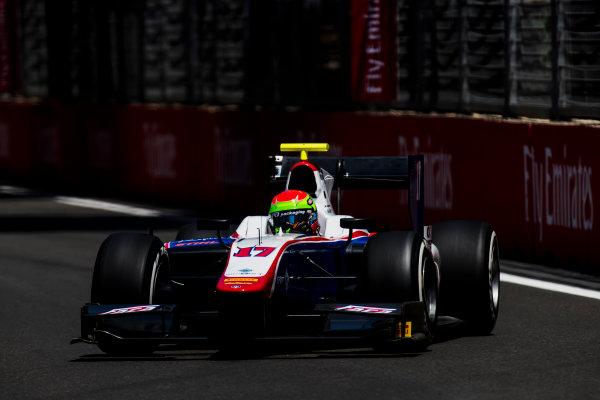 2017 FIA Formula 2 Round 4. Baku City Circuit, Baku, Azerbaijan. Friday 23 June 2017. Sergio Canamasas (ESP, Trident)  Photo: Zak Mauger/FIA Formula 2. ref: Digital Image _54I9686