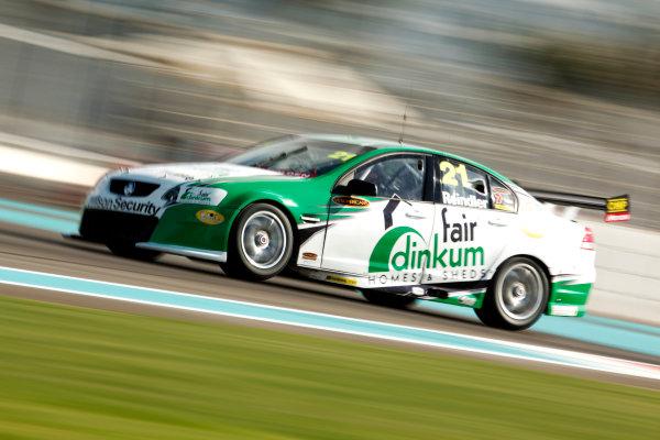 YAS Marina Circuit, Abu Dhabi. 10th -  12h February 2011. Karl Reindler, (Britek Racing).  Action.  World Copyright: Drew Gibson/LAT Photographicref: Digital Image DG5D7935